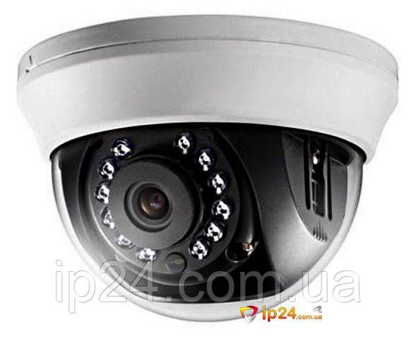 Видеокамера купольная Hikvision DS-2CE56D1T-IRMM 2.8mm