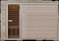 Четырехместная инфракрасная сауна с карбоновыми излучателями