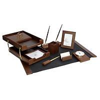 Подарочный набор настольный из дерева BESTAR 0259XDX орех (10 предметов)