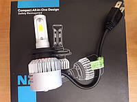 Светодиодные автолампы H7 COB chips 8000 lm безопасное вождение ночью