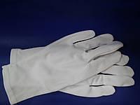 Перчатки белые для продавцов ювелирных изделий