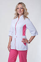 Женский медицинский костюм на молнии