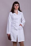 Женский медицинский халат белый