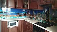 Стеклянная панель на кухню, скинали на заказ