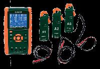 Комплект анализатора качества электроэнергии/регистратор данных Extech PQ3450-2 200A