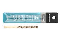 Сверло спиральное по металлу, 6,0 мм, HSS-Co GROSS