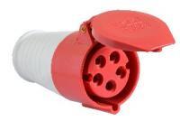 Розетка (гнездо) переносная ГП 16А/5 3Р+N+РЕ (215) АСКО, 2998