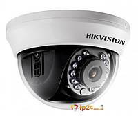 Видеокамера купольная Hikvision DS-2CE56C0T-IRMM (2.8мм)