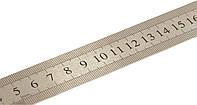 Лінійка 20 см металева