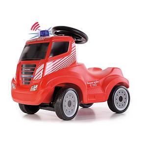 Детская машинка каталка (толокар) FERBEDO Iveco Magirus Fire Truck Ride Германия красная
