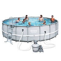 Каркасный бассейн Bestway 56634 с аксессуарами (671-132 см)