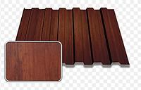 Профнастил кровельно-заборный НС-20 0,4 мм декор Дерево