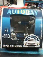 Автомобильная лампа H7 55W AUTORAY+90% (52720SL) Box