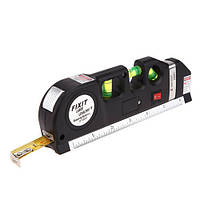 Лазерный уровень, рулетка 2.5м Level pro 3