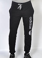 Штаны спортивные мужские трикотажные Adidas - черные