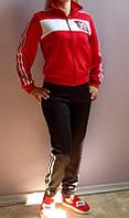 Тренировочный, парадный, выездной спортивный костюм для команды с вышивкой фамилий, логотипов, шевронов, спины