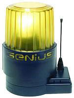 Лампа сигнальная со встроенной антенной 220В Genius