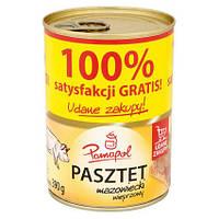 Свинной паштет Pamapol ж/б 390гр