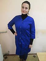 Халат рабочий, женская униформа, рабочая одежда
