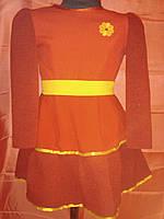 Красное платье на девочку 2-3 года