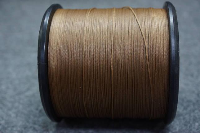 """НИТКА """"COMBI""""0,8мм воскована (1000 м.)коричневий., фото 2"""