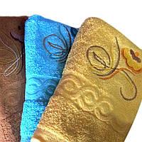 Банное полотенце Узорное Л12-12