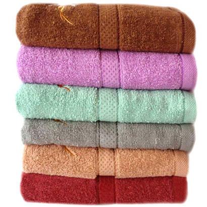 Банное полотенце Цветочный ромб Л201-57