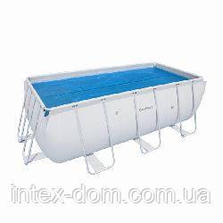 Тент солнечный для прямоугольного бассейна 412х201см BestWay 58240