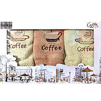 Набор кухонных полотенец Coffee Н3