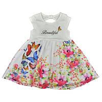 Красивое летнее платье для девочки Cichlid