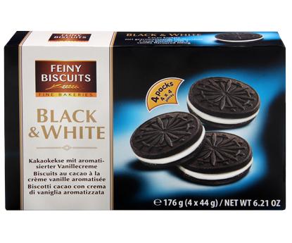 Печение Feiny Biscuits Black & White, 176 гр, фото 2