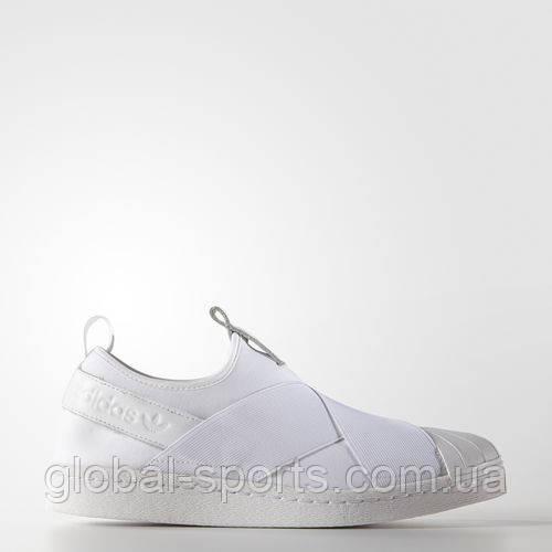 Женские кроссовки - слипоны Adidas Superstar(Артикул:S81338)