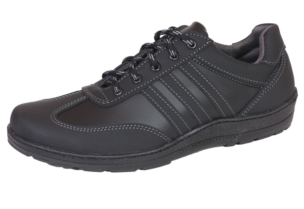 Туфли спорт Kindzer T14 черные
