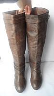 Отличные кожаные сапоги gordeous размер 41 индия, фото 1