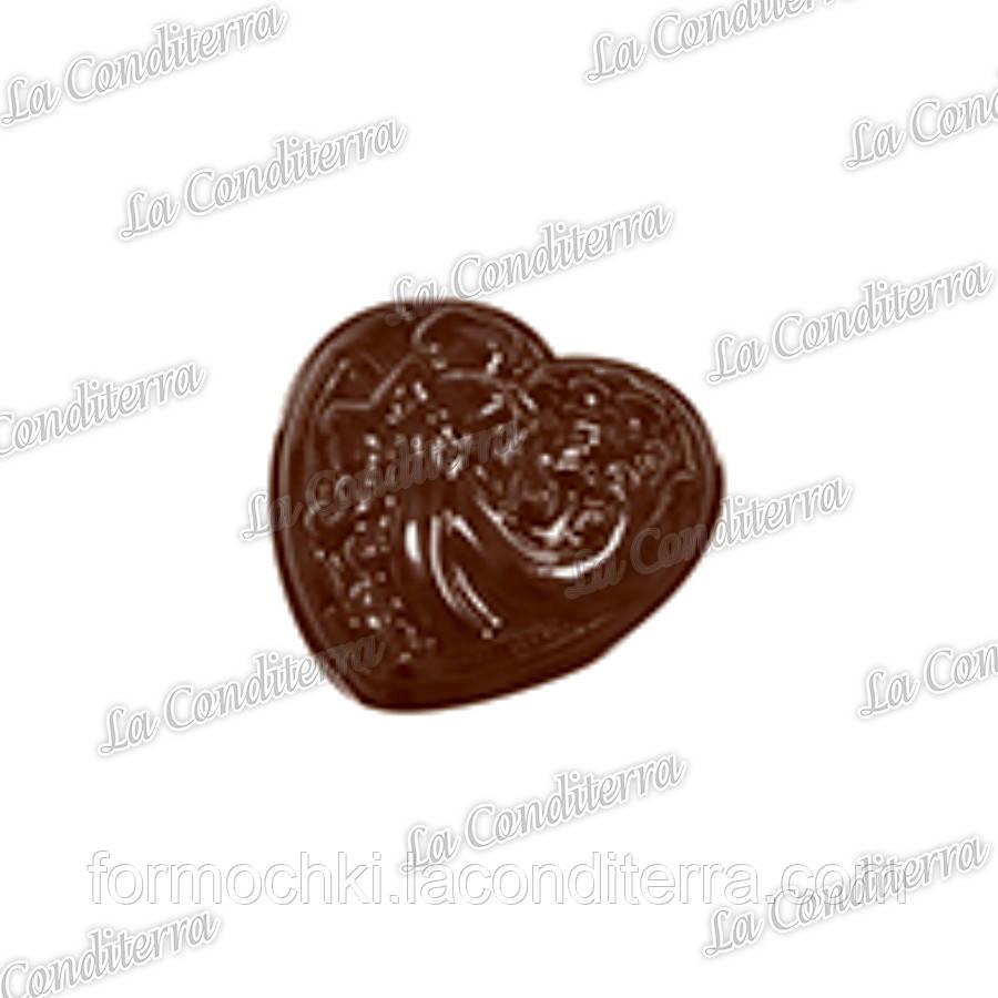 Полиэтиленовая форма для шоколадных конфет MARTELLATO 90-1023