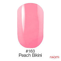 Гель-лак Naomi 163 Peach Bikini, 6 мл