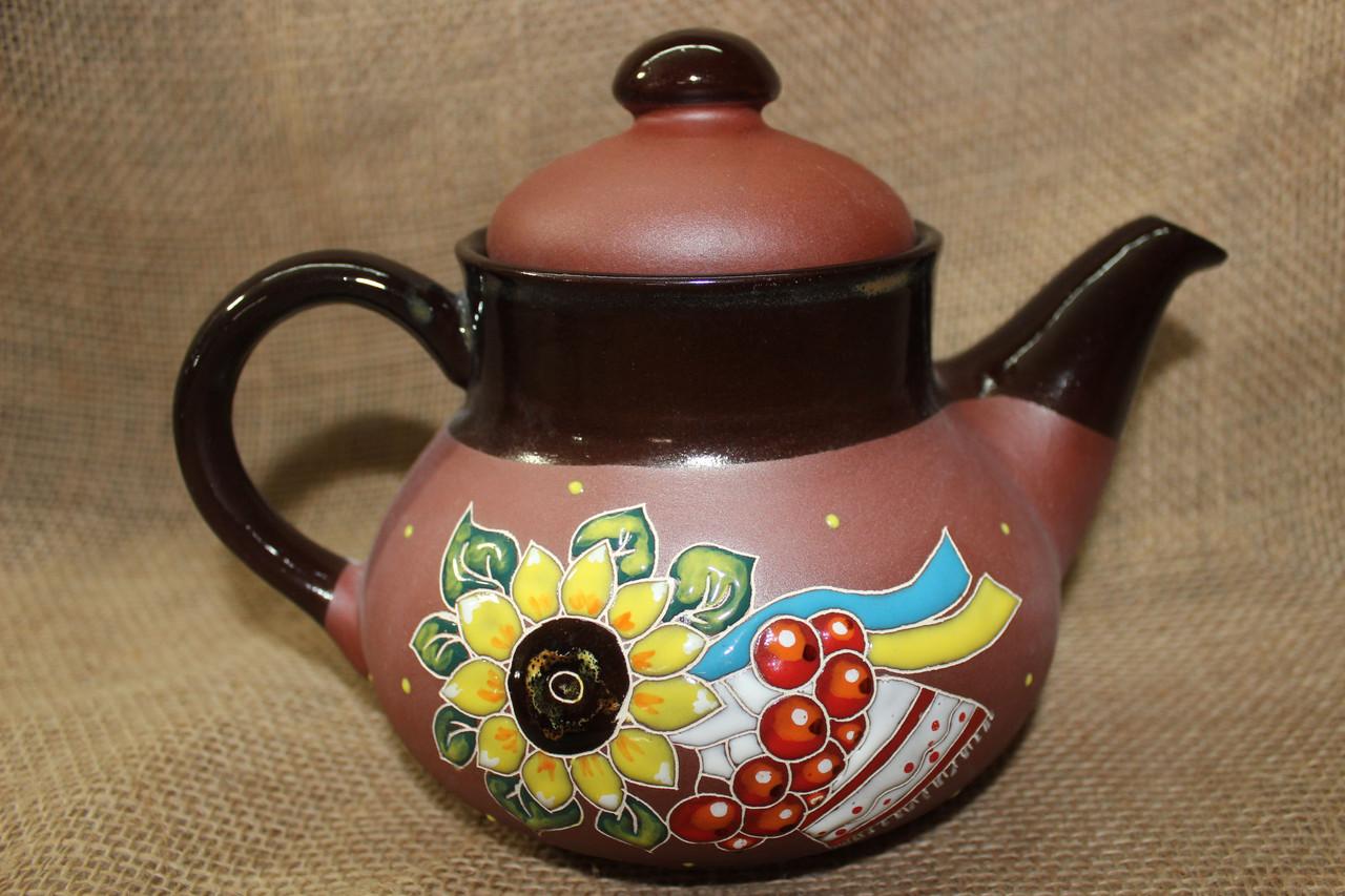 Чайник керамический «Рушник»