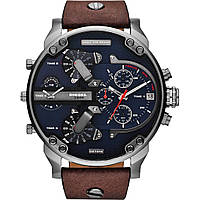 Часы Diesel Brave мужские наручные часы (кварц, ремешок кожа) реплика