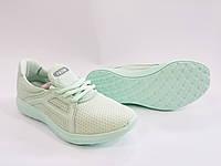 Женские комфортные легкие мятные кроссовки для спорта бега, текстиль Razor