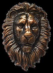 Барельеф льва на ворота