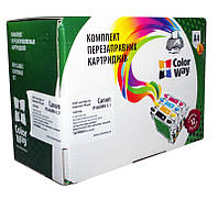 НПК ColorWay Canon iP3600/4600/4700/4840, MP540/550/560/620, MG5140/5240, без чипов, 5х100 г чернил (IP3600RN-5.1)
