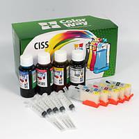 НПК ColorWay Canon iP7240, MG5440, раздельные чипы, 5x100 г чернил (IP7240RC-5.1)