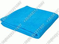 Махровая простынь голубая 150х200 Узбекистан