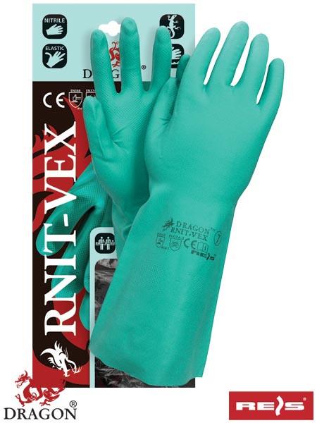 Захисні рукавички з нітрильного каучуку RNIT-VEX Z