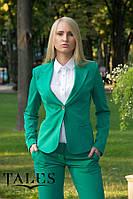 Жакет классический Classic_green