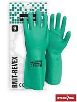 Защитные перчатки из нитрила RNIT-REVEX Z