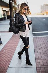 Рюкзаки женские, городские, школьные кожаные