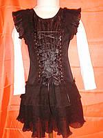 Платье для девочки на 6-10 лет