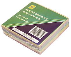 Бумага для записей (куб) цветная