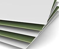 Гипсокартон стеновой 3*1,25 м 12,5 мм влагостойкий Кнауф